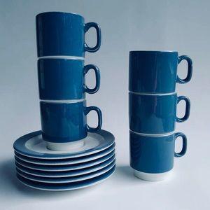 NWT Pagnossin Italian Set Coffee Tea Espresso Gift